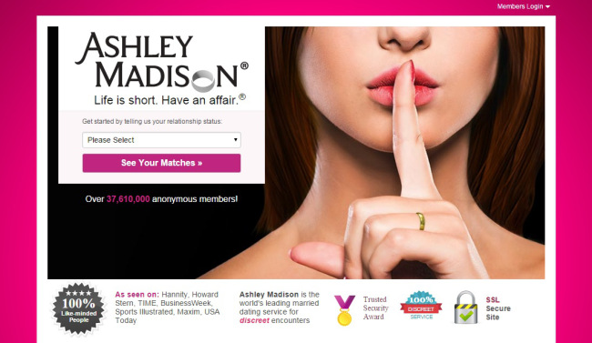 Ashley madison promo