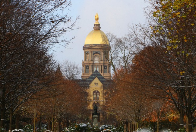 Notre Dame Scores 10m For Wind Tunnel Project Wish Tv Indianapolis News Indiana Weather Indiana Traffic
