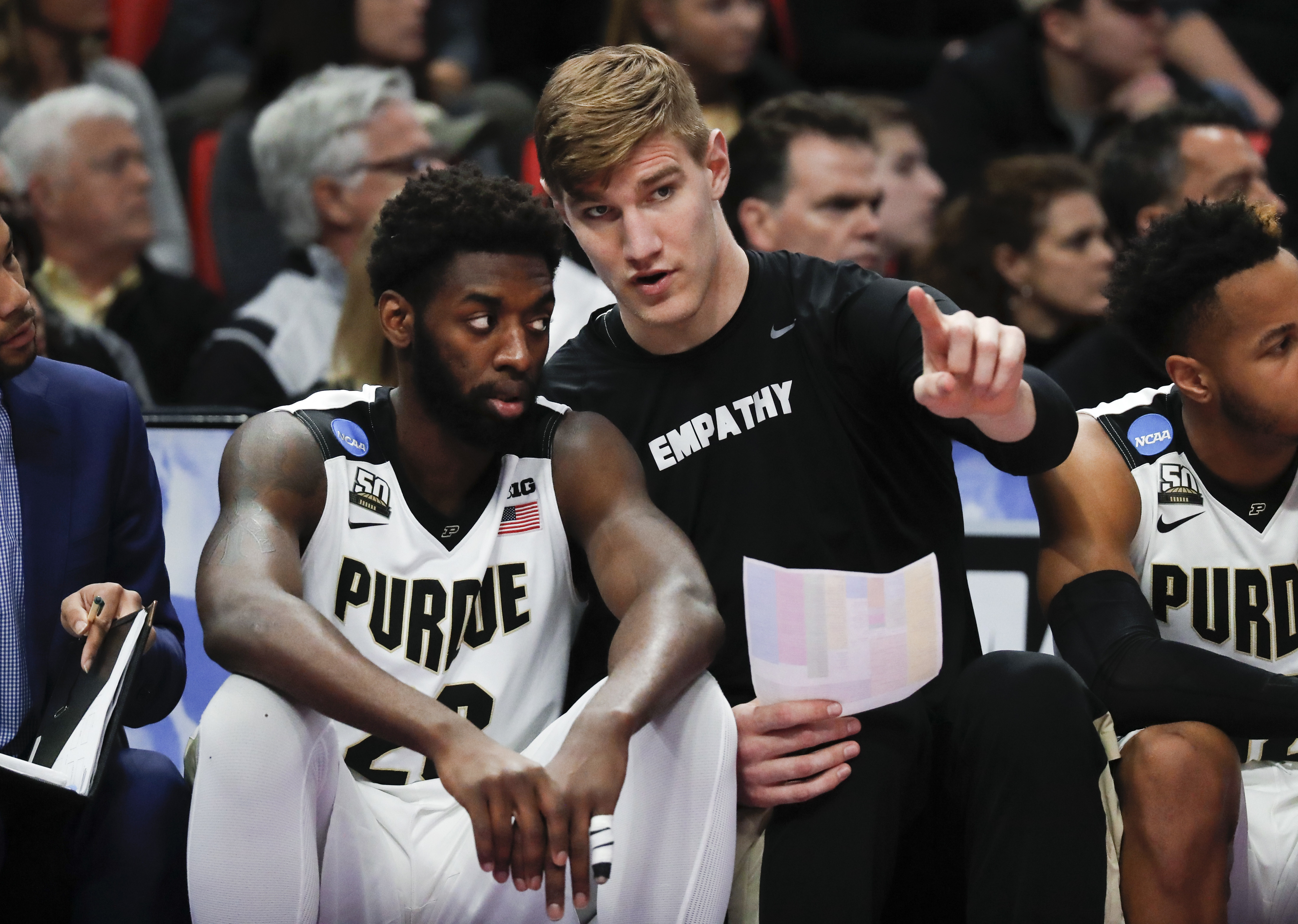 Purdue backup forward Jacquil Taylor plans to transfer - WISH-TV ...
