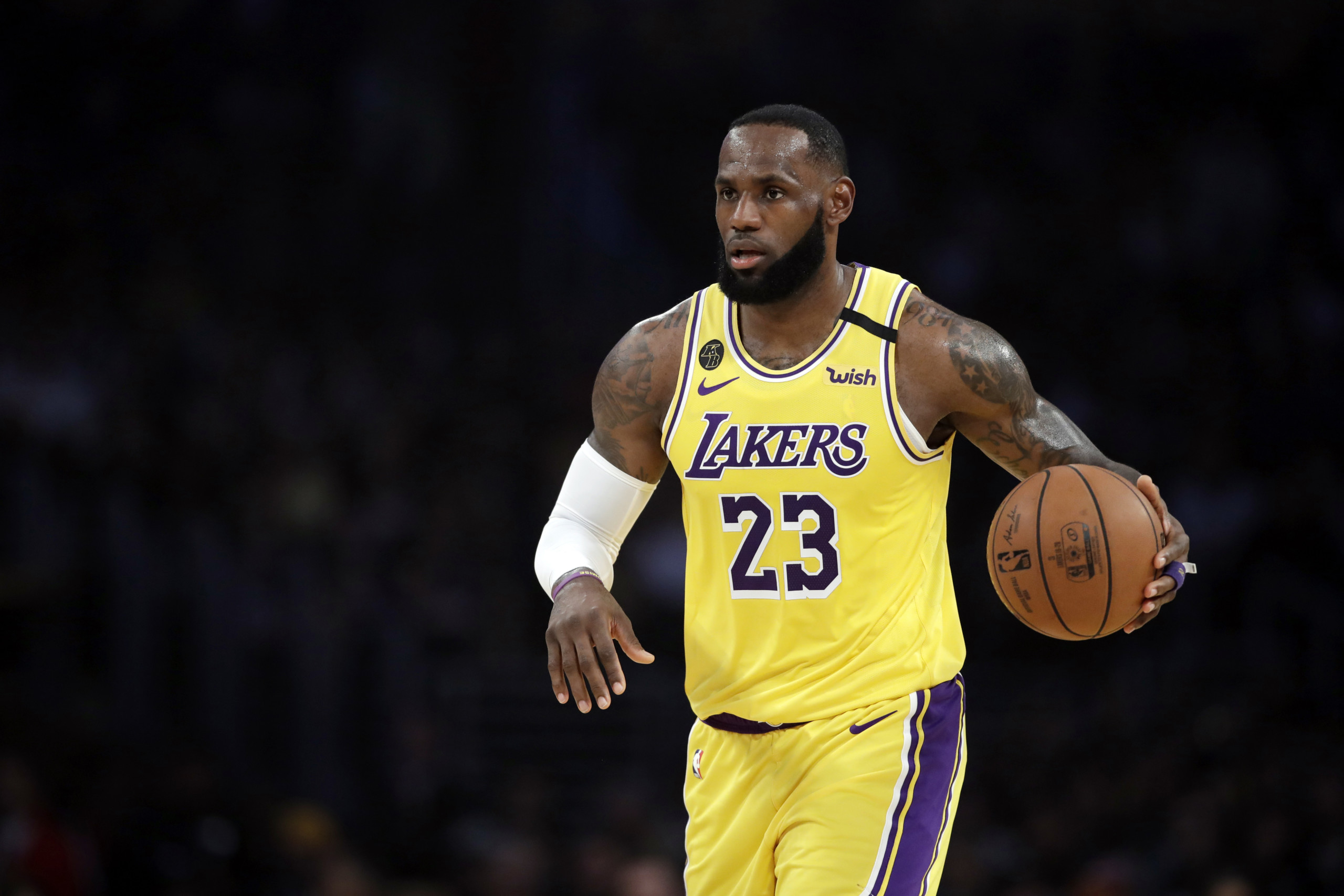 LeBron won't wear social justice message on Lakers jersey - WISH ...