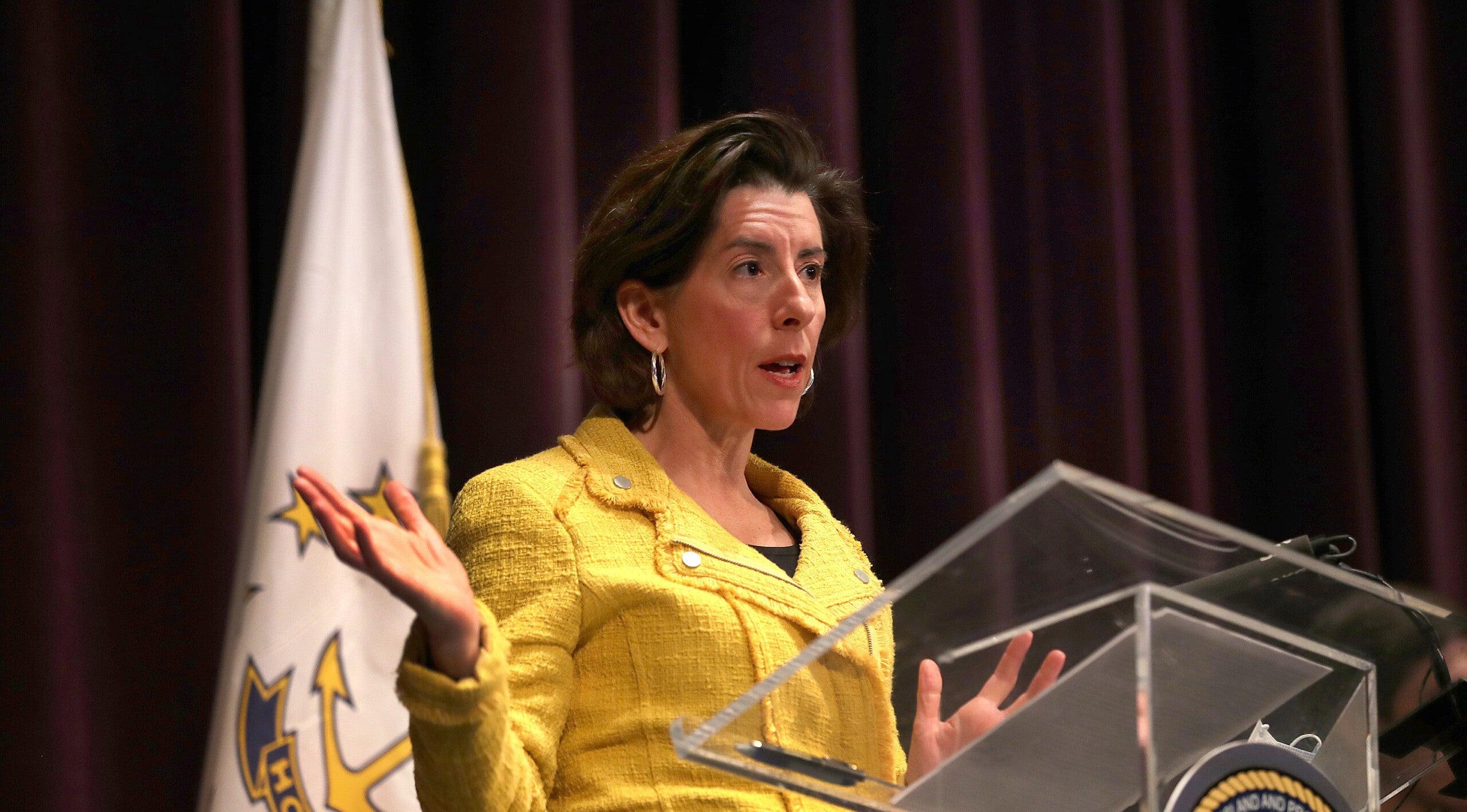 Biden to nominate Rhode Island Governor Gina Raimondo to