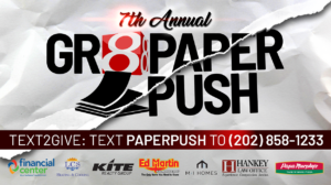 Gr8 Paper Push: Donate to help teachers, students