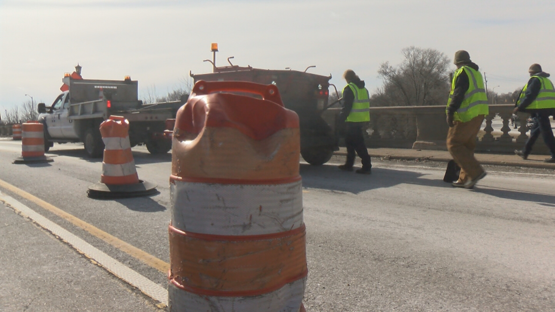 Patching potholes in Indianapolis