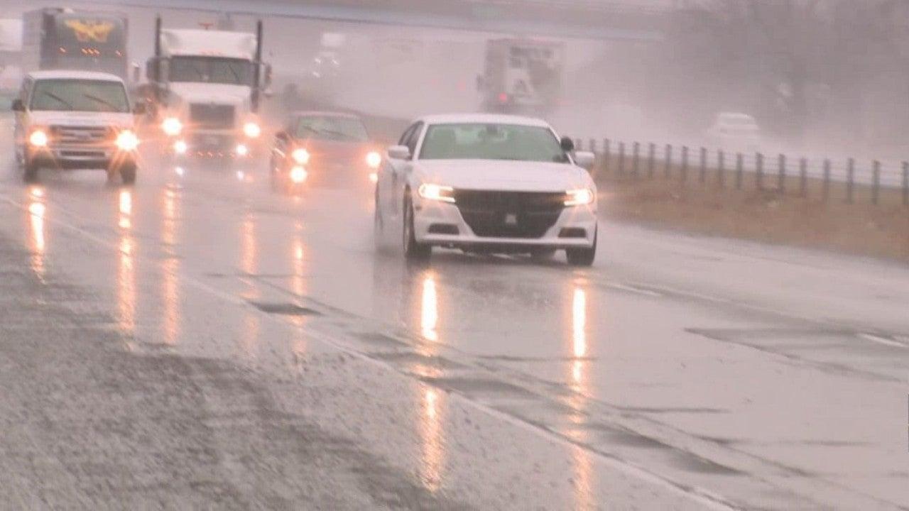 State police conduct slowdowns on I-69 amid pothole dangers