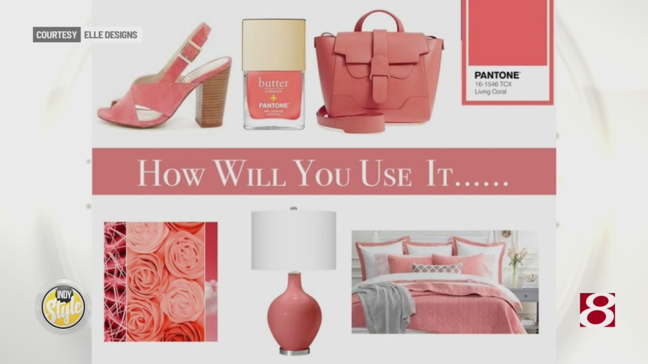 Kicking off a Vibrant Start to Spring - Pantone's Color of the Year: Living Coral