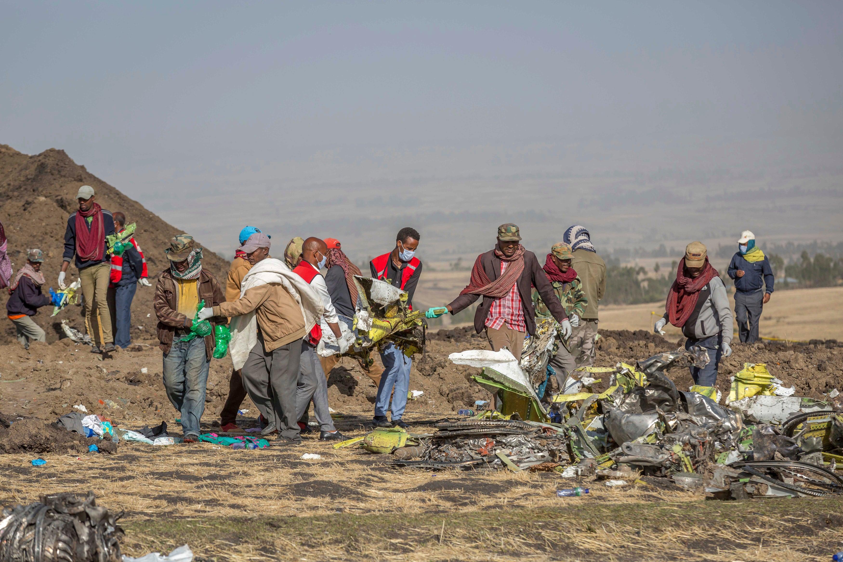APTOPIX Ethiopia Plane Crash_1552400477529