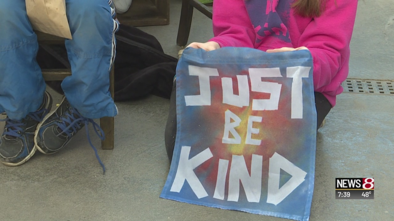 'Just Be Kind Club' making a difference, changing the world