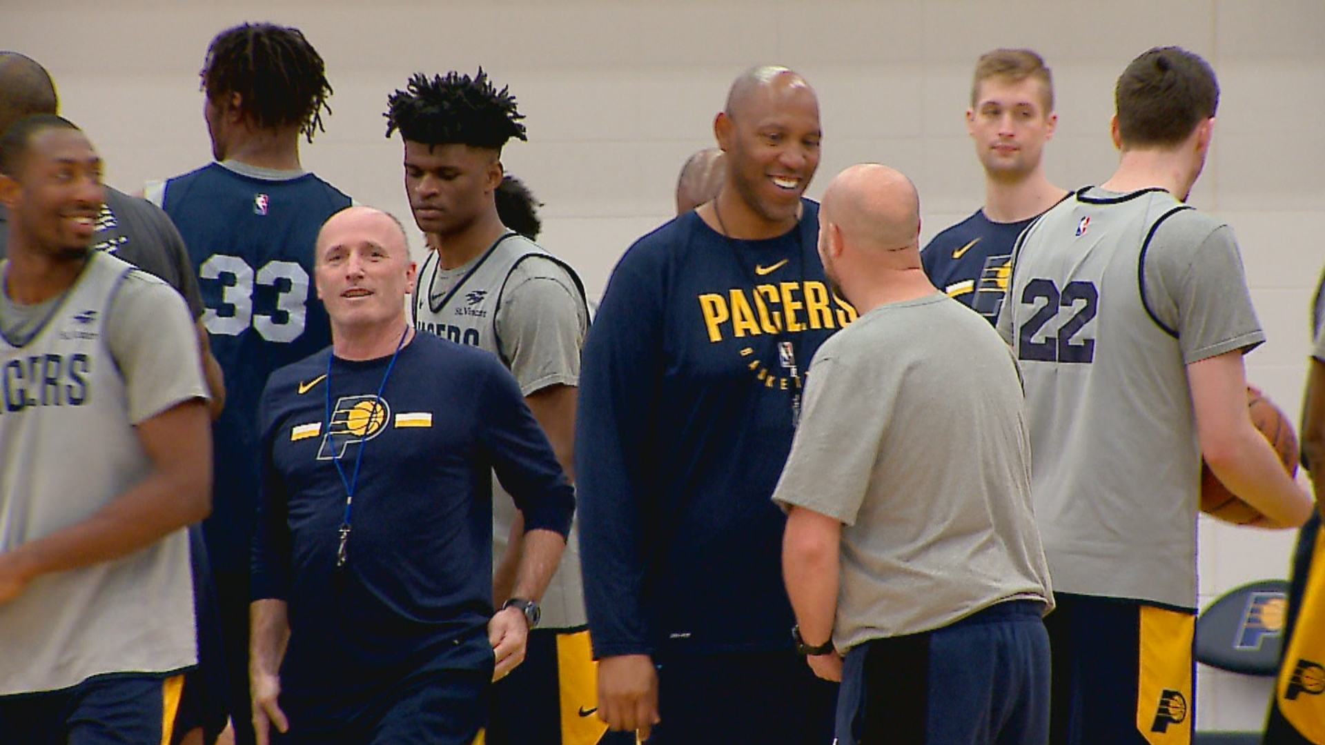 Pacers prepare for first game of NBA playoffs